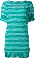 Missoni short knitted dress - women - Silk/Polyester/Spandex/Elastane/Viscose - 38