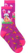 K. Bell Bunny Egg Socks Crew Socks - Women's
