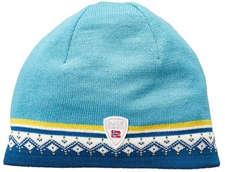 Dale of Norway Moritz Hat (Arctic Blue/Sweethoney/Off-White/Turquoise) Beanies