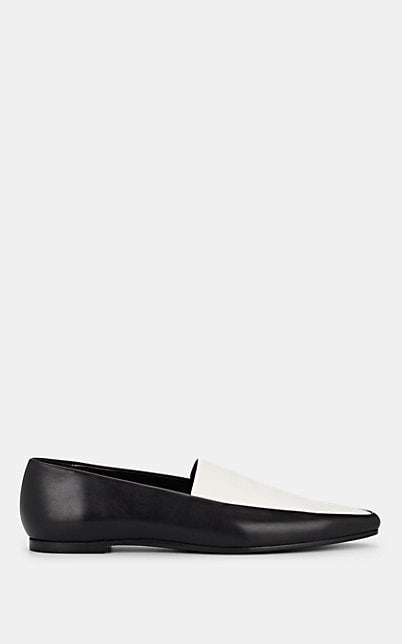 7b2599ded Womens Black And White Loafers - ShopStyle
