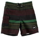 O'Neill Toddler Boy's Santa Cruz Stripe Board Shorts