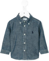Ralph Lauren branded shirt - kids - Cotton - 6 mth