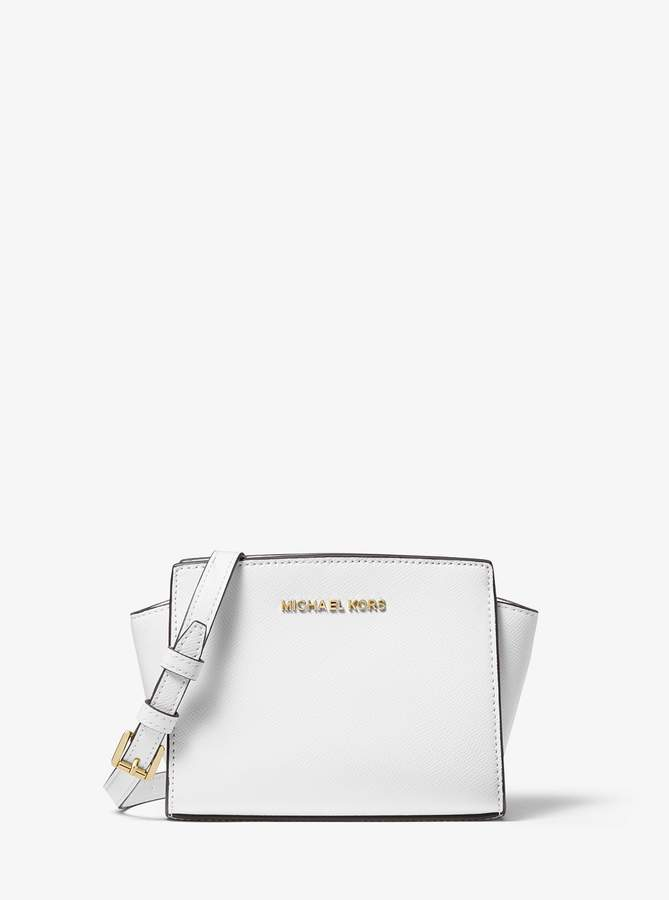 cdb308ce3e6783 MICHAEL Michael Kors Blue Leather Handbags - ShopStyle