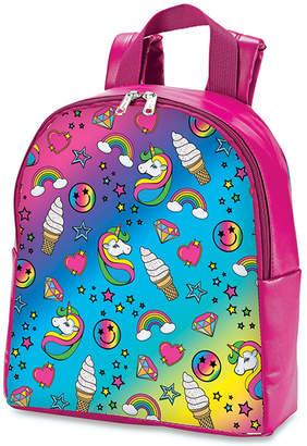Hot Stuff Girls' Backpacks - Pink & Light Blue Unicorn & Rainbow Mini Backpack