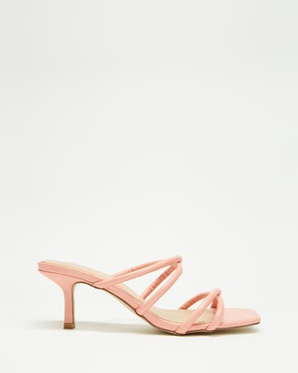 Therapy Women's Pink Strappy sandals - Minaj - Size 5 at The Iconic