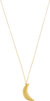 MARTE FRISNES Agatha gold-plated necklace