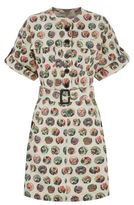Burberry Printed Belted Dress