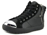 Aldo Sesame Women Leather Black Fashion Sneakers.