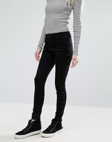 Only Royal Side Seam Detail Skinny Jeans
