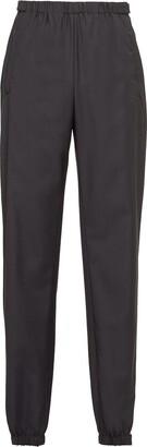 Prada Elasticated-Waist Tapered Trousers