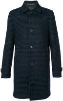 Eleventy button up coat - men - Polyamide/Acetate/Viscose/Virgin Wool - 46