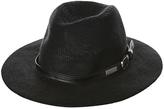 Element Tribute Womens Panama Hat Black