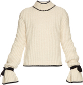 J.W.Anderson Cuff-detail chunky-knit sweater