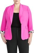 Rachel Roy Collection Shawl Wrap Blazer (Plus Size)