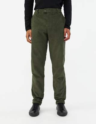 Need Mason Extended Tab Pant in Olive Corduroy