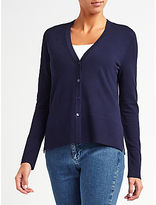 John Lewis Drop Sleeve V-Neck Cardigan
