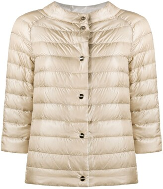Herno Reversible Short Puffer Jacket