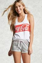 Forever 21 FOREVER 21+ Coca-Cola Graphic PJ Shorts
