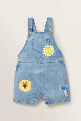 Seed Heritage Patched Denim Overall