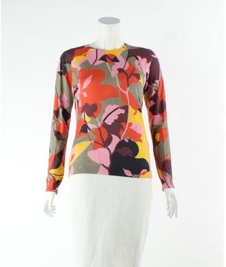 Jonathan Saunders Orange Silk Jumpsuits