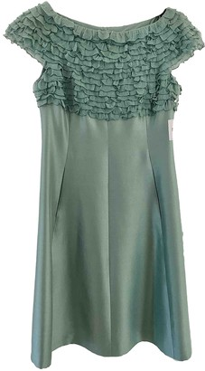 Moschino Green Silk Dresses