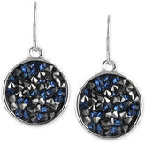 Kenneth Cole New York Silver-Tone Faceted Bead Disc Drop Earrings