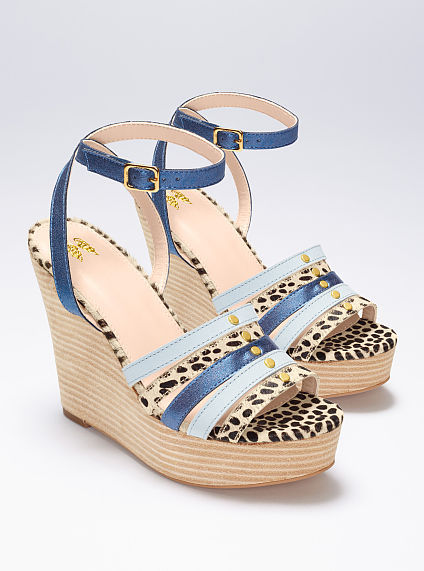 Victoria's Secret Collection Strappy Wedge Sandal