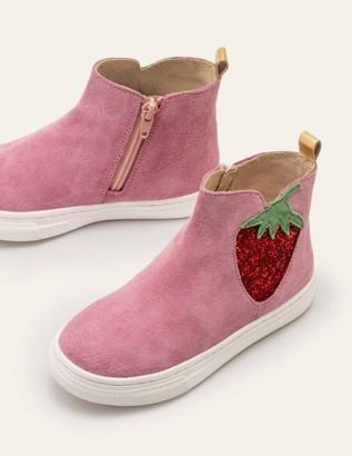 Suede Novelty Boots