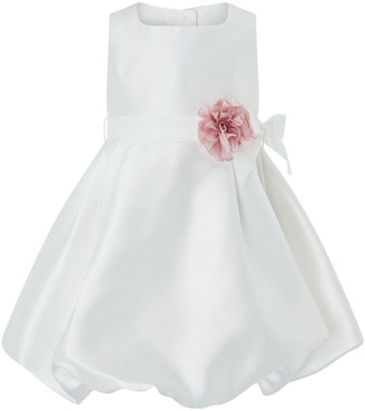 Under Armour Baby Pearl Puffball Occasion Dress Ivory