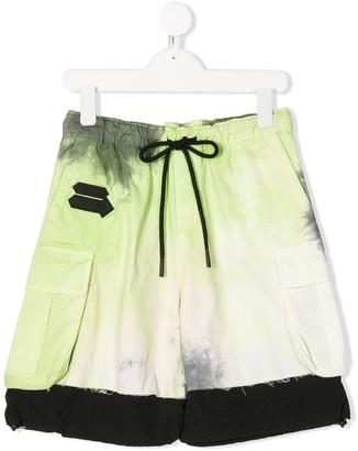 Cinzia Araia Kids Tie Dye Track Shorts