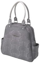 Petunia Pickle Bottom Infant 'Embossed Sashay' Diaper Bag - Grey