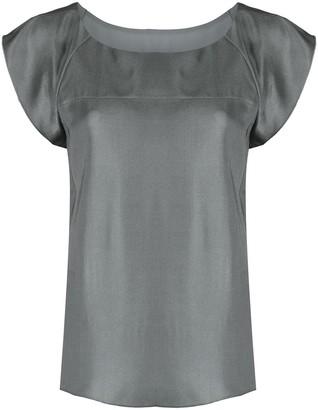 Emporio Armani Cap-Sleeve Blouse