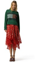 Tommy Hilfiger Lace Cascade Skirt