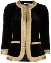 Givenchy embroidered cropped jacket