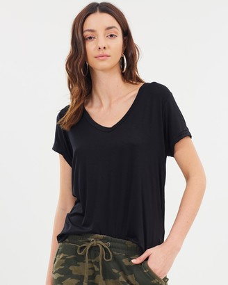 Cotton On Karly Short Sleeve V-Neck Top