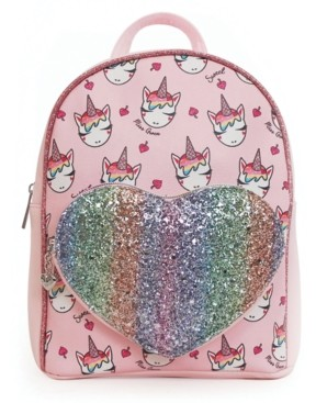 Omg Accessories Omg! Accessories Ice Cream Miss Gwen Printed Mini Backpack with Heart Pocket