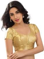 Bollywood Blouses Women's Katori Style Shimmey Designerr Saree Blouse