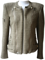 Balmain Khaki Tweed Jacket
