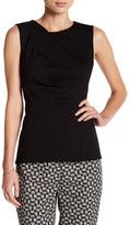 Anne Klein Asymmetrical Sleeveless Blouse