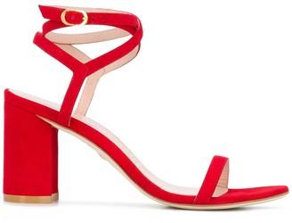 Stuart Weitzman Merinda 90mm block heel sandals