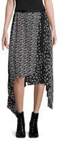 Rag & Bone Liv Asymmetrical Wrap Skirt