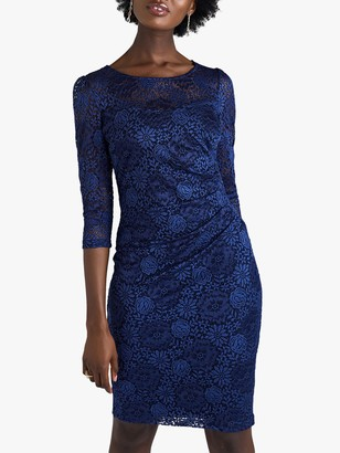 Yumi Floral Lace Bodycon Dress