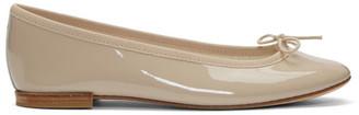 Repetto Beige Patent Cendrillon Ballerina Flats