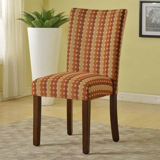 "HomePop 19"" W Polyester Parsons Chair"
