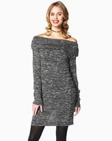 Charming charlie Comfy Cowl Neck Dress