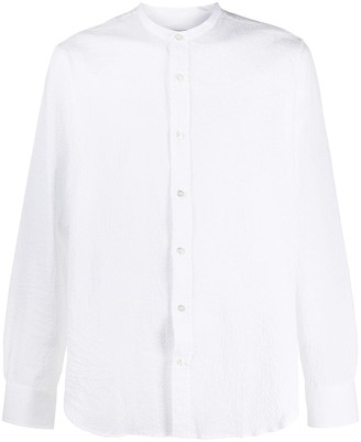 Officine Generale Buttoned Long-Sleeved Shirt