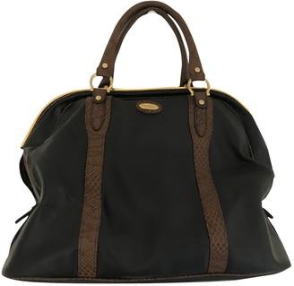 Pierre Cardin Black Leather Travel bags