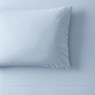 Pottery Barn Teen Washed Dot Organic Sheet Set
