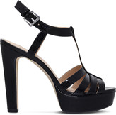 MICHAEL Michael Kors Catalina patent leather platform sandals