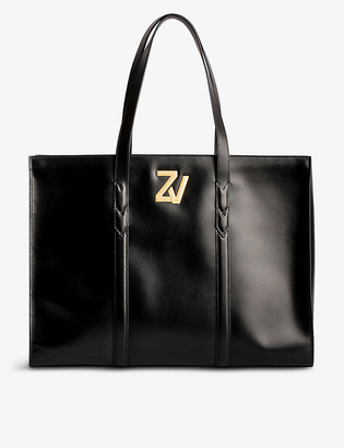 Zadig & Voltaire ZV leather tote bag